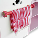 Kitchen Pretend Play Set - Pink Towel
