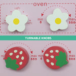 Kitchen Pretend Play Set - Pink Dials