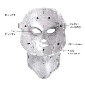 Face and Neck LED Therapy Mask