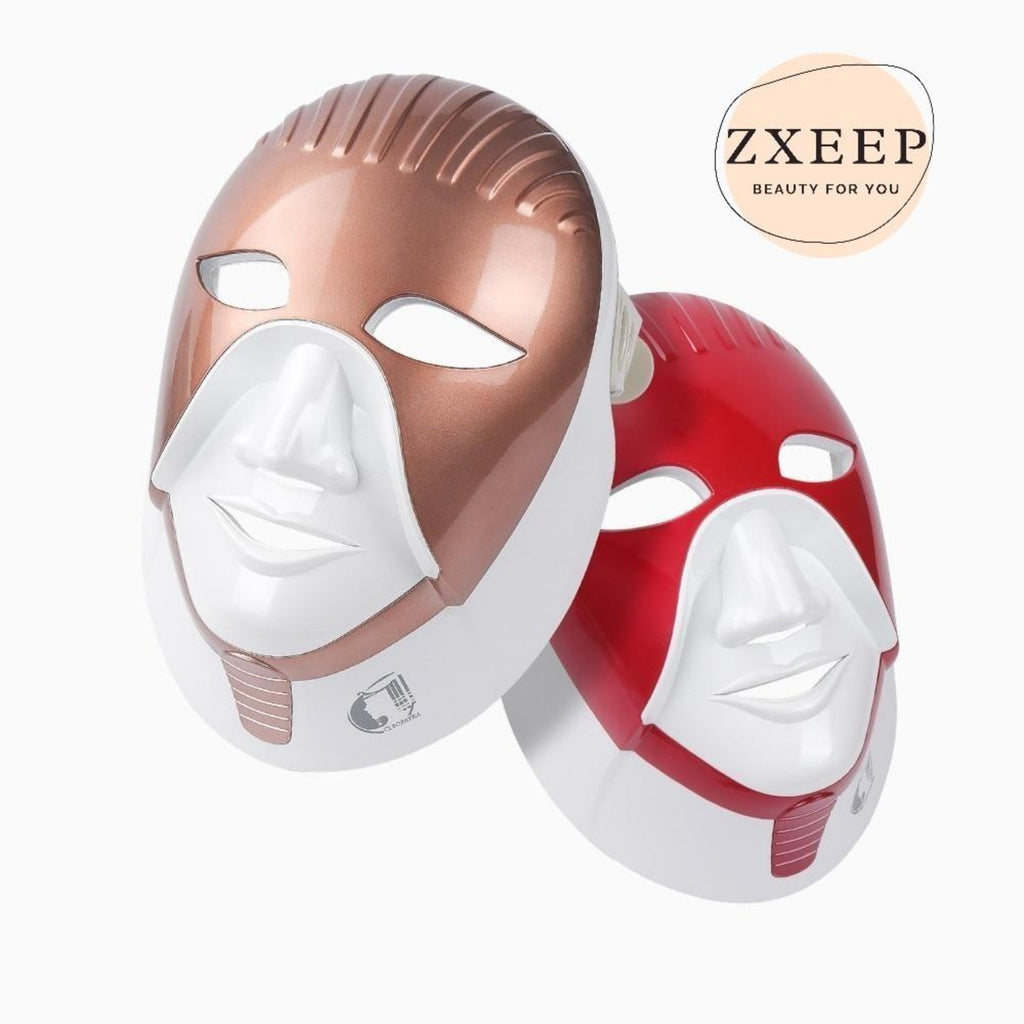 High Intensity LED Face and Neck Mask