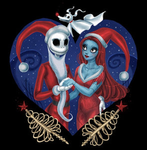 Nightmare Before Christmas Marry Diamond Painting Kit - DIY
