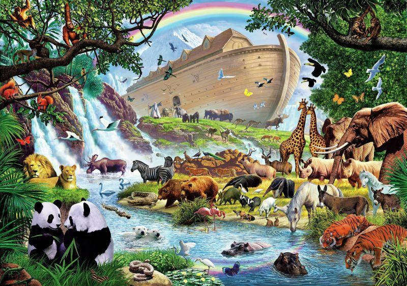 Noah's Ark Animal Diamond Painting Kit - DIY