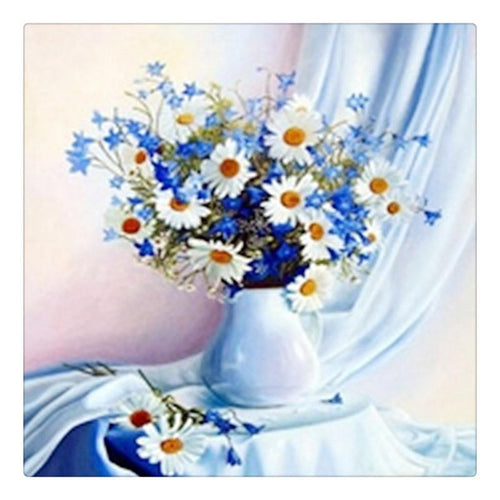 Flower Crystal Diamond Painting Kit - DIY