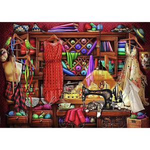 Nice Wardrobe Diamond Painting Kit - DIY