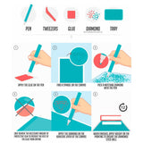 Cabin White Diamond Painting Kit - DIY