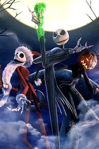 The Nightmare Before Christmas Diamond Painting Kit - DIY