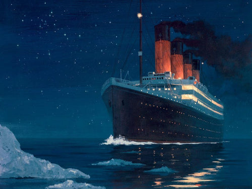 Titanic Boat Painting Kit - DIY