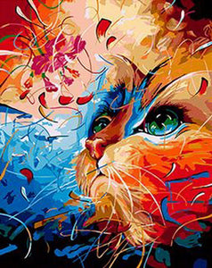 5d Cat Diamond Painting Kit Premium-19