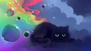 5d Cat Diamond Painting Kit Premium-34
