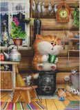 5d Cat Diamond Painting Kit Premium-37