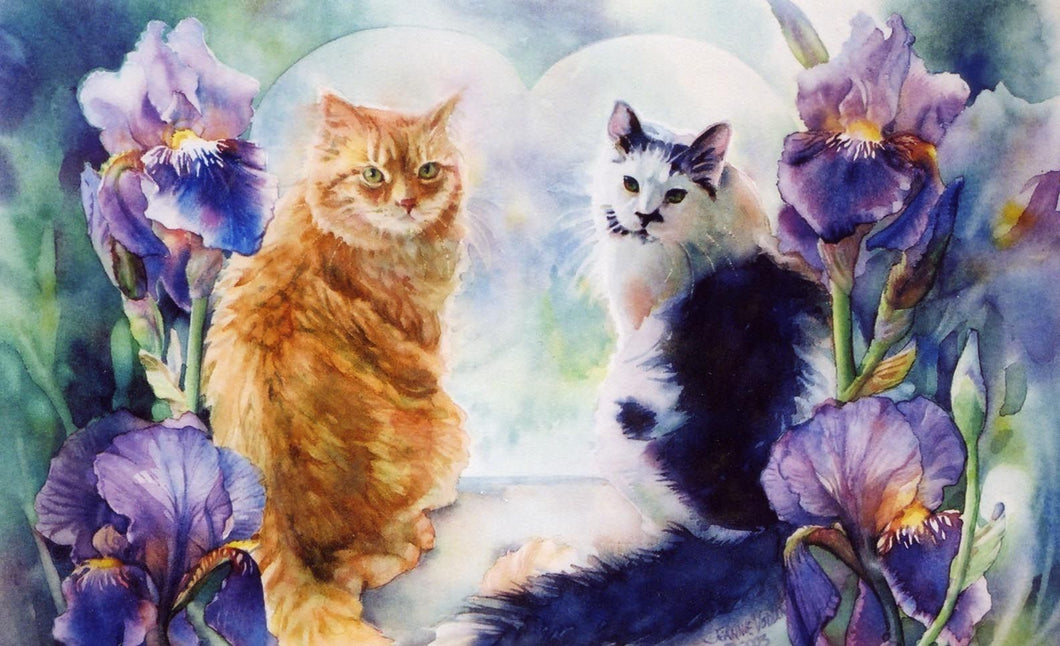 5d Cat Diamond Painting Kit Premium-42