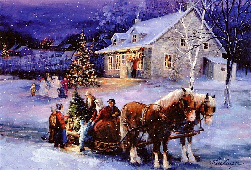 Christmas Diamond Painting Kit - DIY Christmas-7