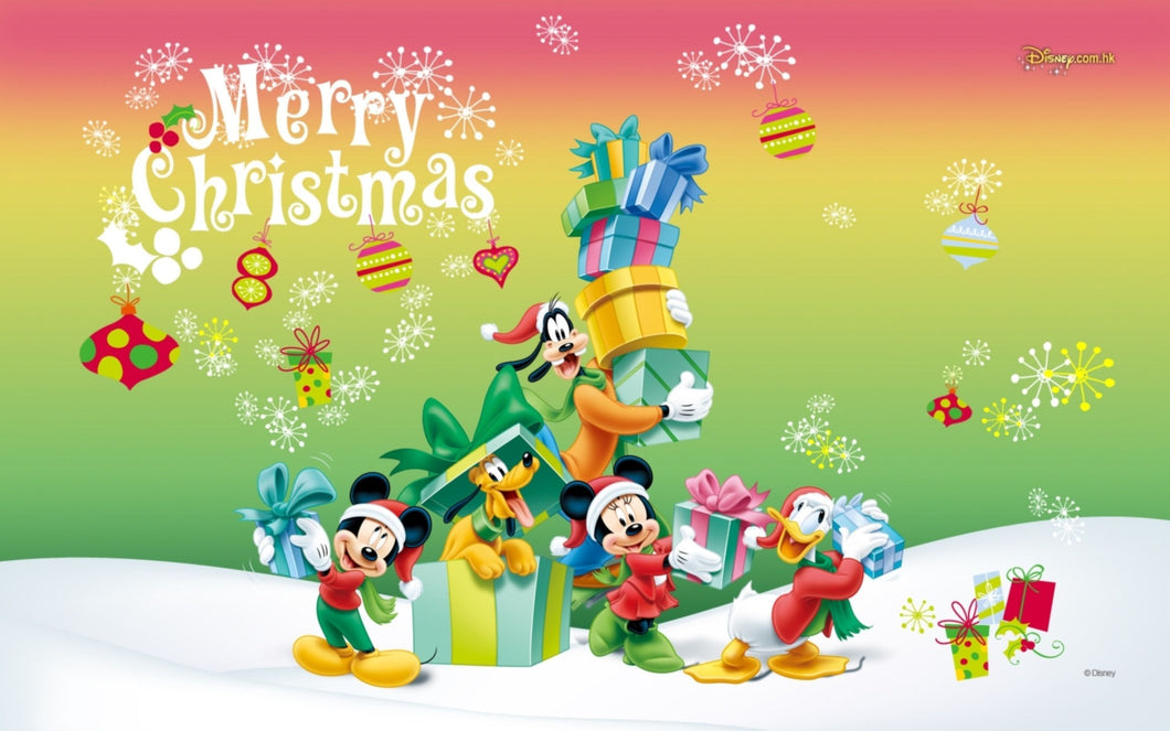 Disney Christmas Diamond Painting Kit - DIY Disney Christmas-4