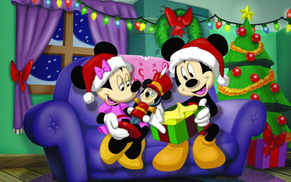 Disney Christmas Diamond Painting Kit - DIY Disney Christmas-9