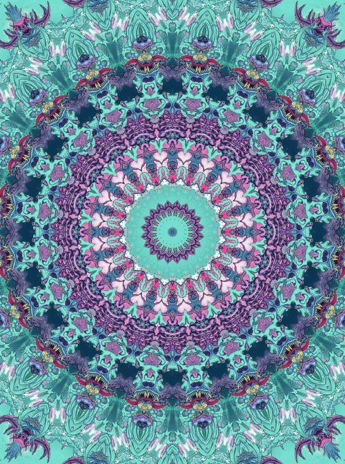 Mandala Diamond Painting Kit - DIY Mandala-30
