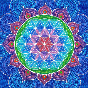 Mandala Diamond Painting Kit - DIY Mandala-3