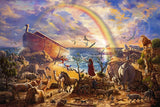 The Noah's Ark Animals Diamond Painting Kit - DIY