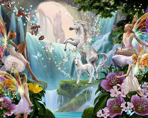 Unicorn Diamond Painting Kit - DIY Unicorn-79