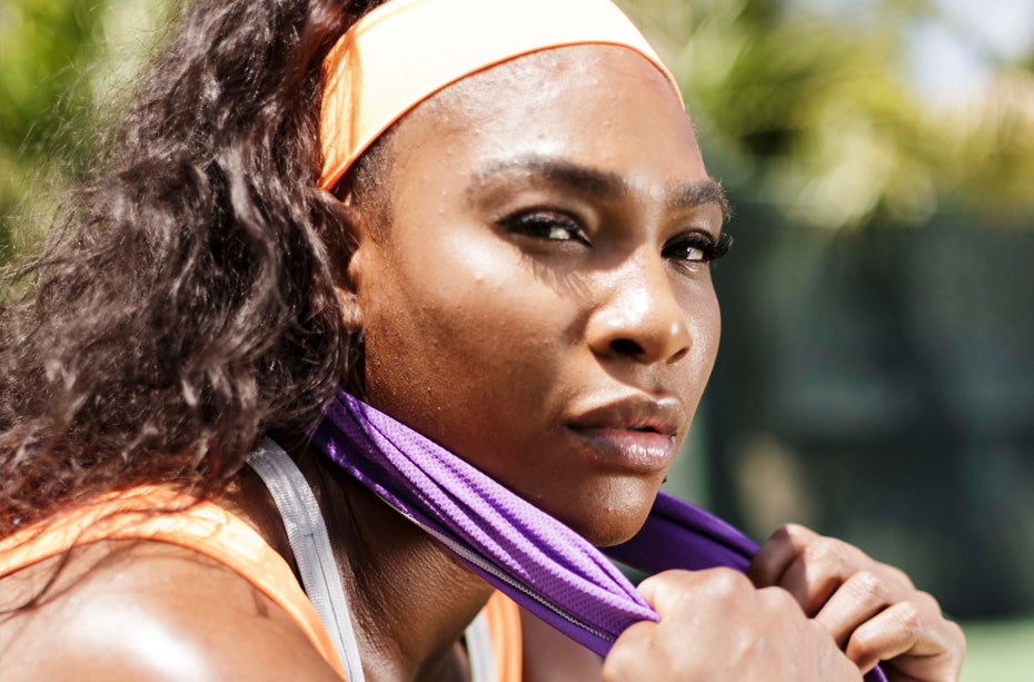Serena Williams Cooling Towel