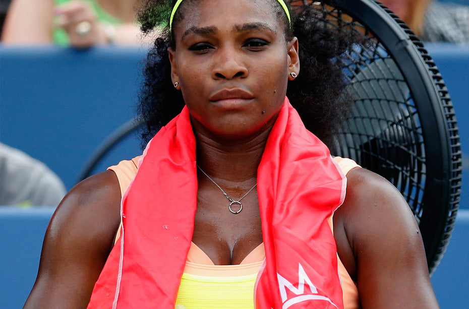 Serena Williams Sideline Cooling