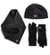 Women's VaporActive Beanie, Scarf, & Glove Set  | Black