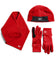 Women's RadiantActive Performance Beanie/Scarf/Glove Set | Cardinal