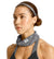 Cooling Compact Neck Gaiter | Charcoal Space Dye