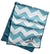 Enduracool Microfiber Cooling Towel | Blue Chevron