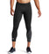 MISSION x WADE COLLECTION Compression ¾ Tights | Flash Black