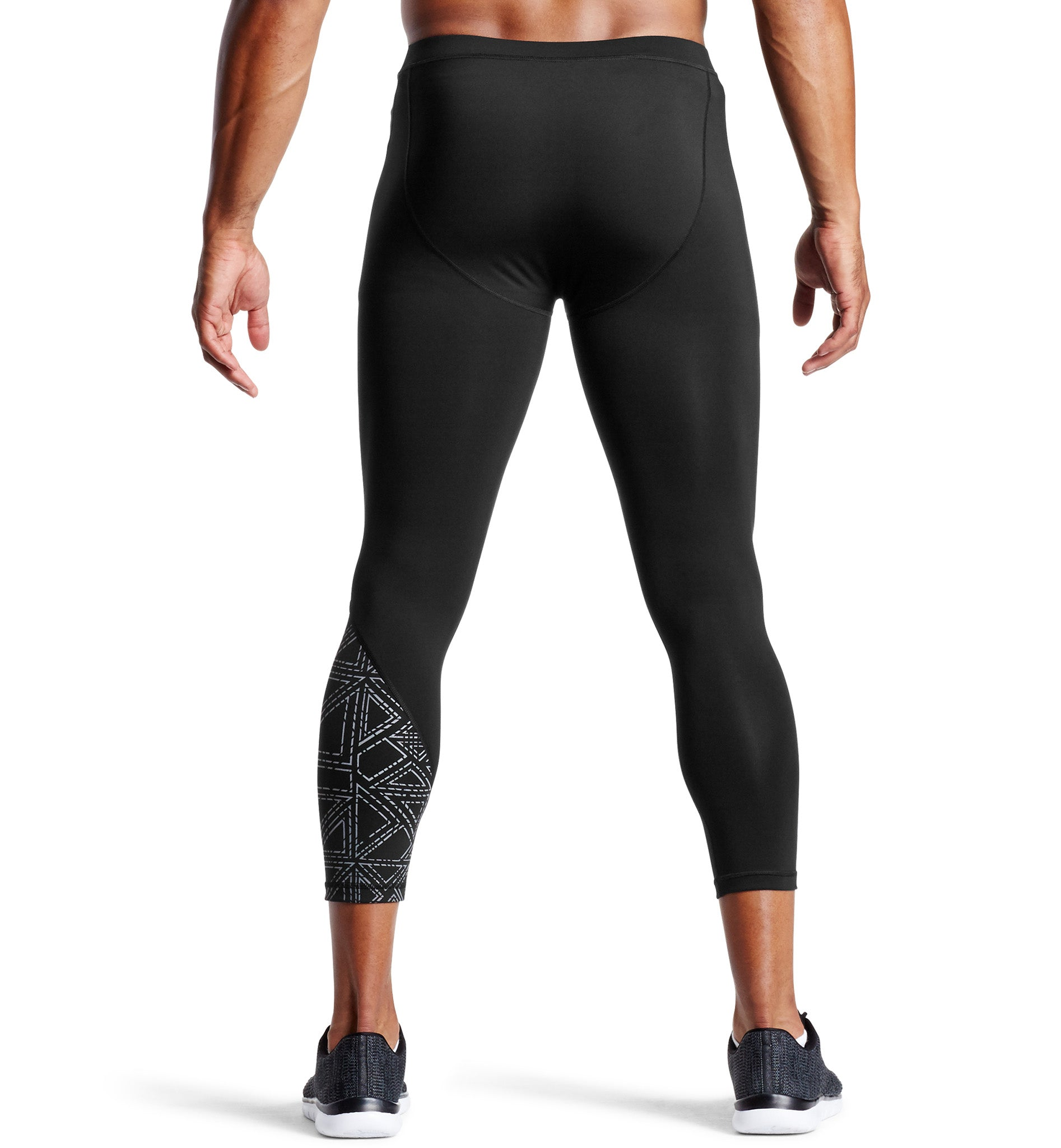 MISSION X Wade Collection Mens Compression 3//4 Tights