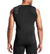 MISSION x WADE COLLECTION Sleeveless Compression Shirt | Flash Black