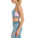 VaporActive Sensory Cross Back Medium Impact Sports Bra | Citadel/ Quiet Shade/ Winsome Orchid