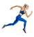 VaporActive Altitude Full Length Leggings | Lapis Blue/ Rush Lapis Blue