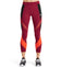 VaporActive Aerial Mid-Rise Crop Leggings | Tibetan Red/ Moonless Night/ Cherry Tomato