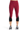 VaporActive System Mid-Rise Capri Leggings | Tibetian Red/ Broadway/ Moonless Night
