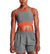 VaporActive Sensory Cross Back Medium Impact Sports Bra | Cherry Tomato/ Quiet Shade/ Lunar Rock