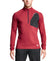 VaporActive Stamina Lightweight 1/4 Zip Long Sleeve Pullover | Tibetian Red/ Moonless Night