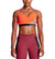 VaporActive Temper Racerback Medium Impact Sports Bra | Cherry Tomato/ Quiet Shade/ Tibetan Red