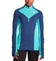 Women's VaporActive Stamina Lightweight 1/4 Zip Long Sleeve Shirt  | Estate Blue/ Viridian Green
