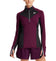 Women's VaporActive Stamina Lightweight 1/4 Zip Long Sleeve Shirt | Potent Purple/ Moonless Night