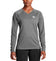 Women's VaporActive Alpha Long Sleeve Shirt  | Heather Grey