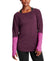 Women's VaporActive Amplified Merino Long Sleeve Shirt  | Potent Purple/ Purple Wine