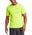 VaporActive Alpha Short Sleeve Athletic Shirt | Hi Vis Green