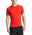 VaporActive Proton Short Sleeve Running T-Shirt | Fiery Red / Iron Gate