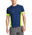 VaporActive Proton Short Sleeve Running T-Shirt | Estate Blue / Hi Vis Green