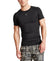 VaporActive Voltage Short Sleeve Compression Top | Moonless Night