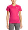 VaporActive Alpha Short Sleeve V-Neck T-Shirt | Beetroot Purple