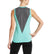 VaporActive Conductor Tank Top | Pool Blue / Iron Gate
