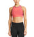 VaporActive Sensory Cross Back Medium Impact Sports Bra | Calypso Coral / Purple Wine
