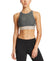VaporActive Sensory Cross Back Medium Impact Sports Bra | Iron Gate / Paloma Ice